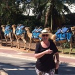 Broome /camels and Kim