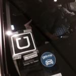 Uber symbol on car/cab?